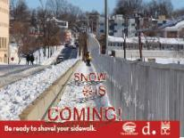 Snow Is Coming: Be Ready to Shovel