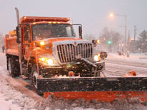 Photo of snow plow truck